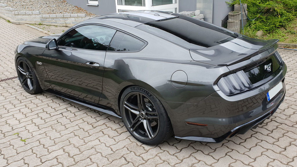 Ford-Mustang-Scheibentönung