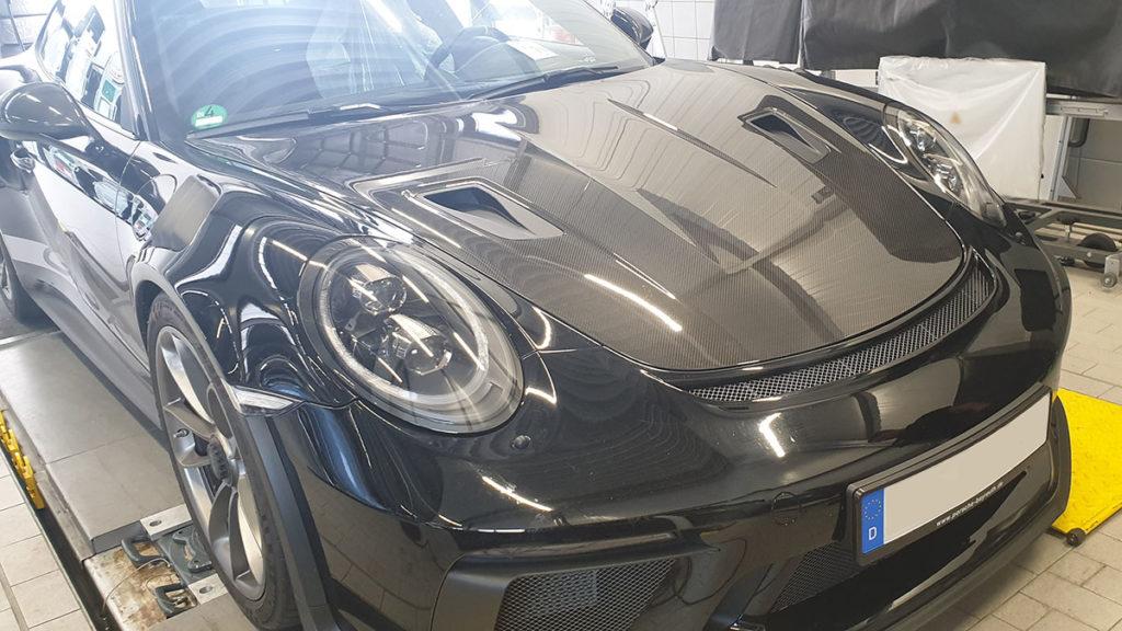 Lackschutzfolie Porsche