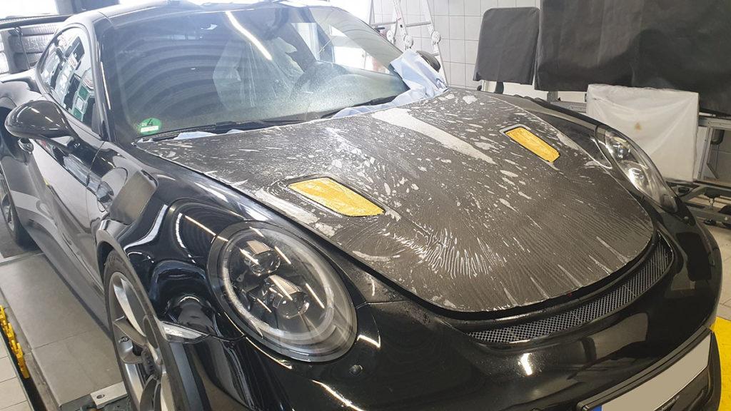 Porsche Lackschutzfolie