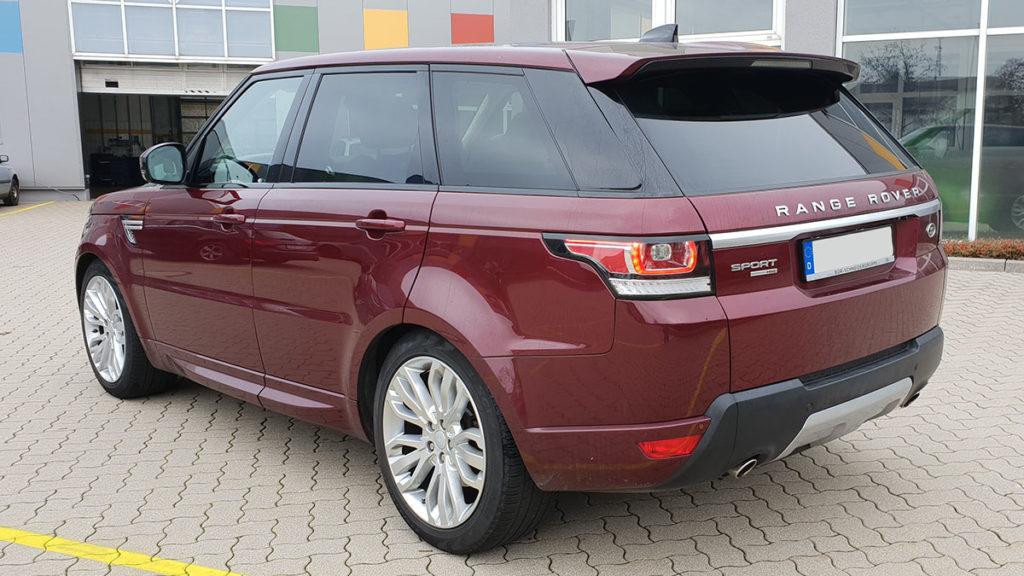 Range Rover Anthracite Scheibentönung